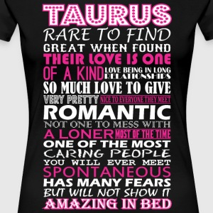 Taurus Rare To Find Romantic Amazing To Bed - Women's Premium T-Shirt