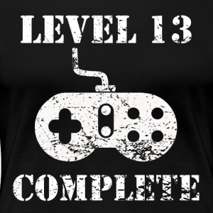 Level 13 Complete 13th Birthday - Women's Premium T-Shirt