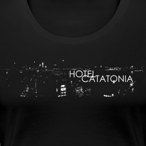 Hotel Catatonia logo image - Women's Premium T-Shirt