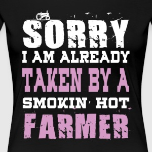 Smokin' Hot Farmer T Shirt - Women's Premium T-Shirt