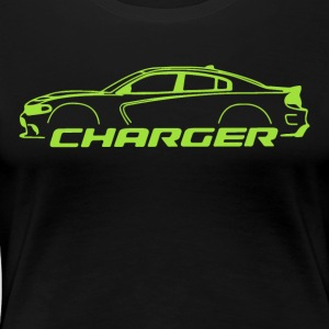 Sublime Green Charger - Women's Premium T-Shirt