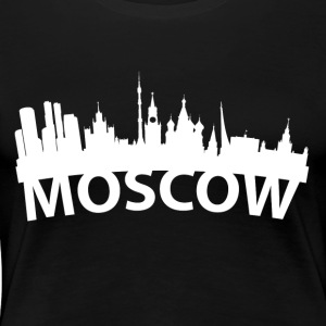 Arc Skyline Of Moscow Russia - Women's Premium T-Shirt