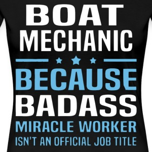 Boat Mechanic T Shirt - Women's Premium T-Shirt