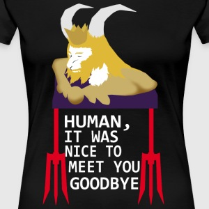 Goodbye human - Women's Premium T-Shirt