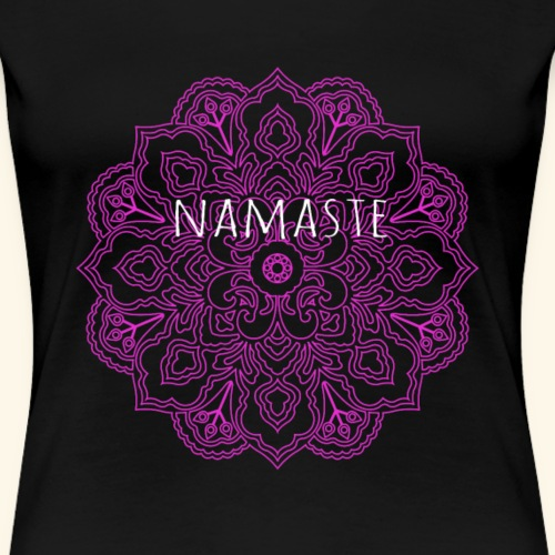 Namaste Mandala - Women's Premium T-Shirt