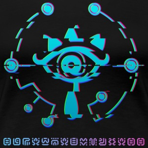 Sheikah eye - Save the princess - Women's Premium T-Shirt