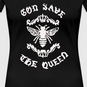 God Save Honey Bee - Women's Premium T-Shirt