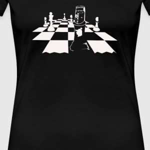 King Arthur Chess Pieces - Women's Premium T-Shirt