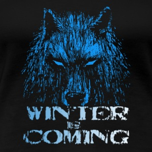 The Fox Winter Is Come - Women's Premium T-Shirt