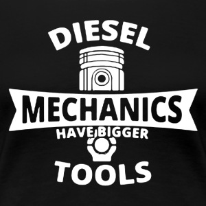 Diesel Mechanic Shirt - Women's Premium T-Shirt