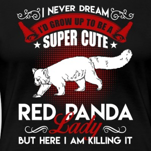 Red Panda Lady Shirt - Women's Premium T-Shirt