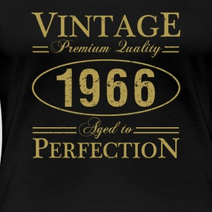 Vintage Premium Quality 1966 Aged To Perfection - Women's Premium T-Shirt