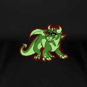 Dragon Print - Women's Premium T-Shirt