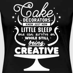 Cake Decorators Shirt - Women's Premium T-Shirt