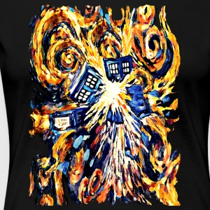 Exploded Pandora Phone Box abstract paintings - Women's Premium T-Shirt