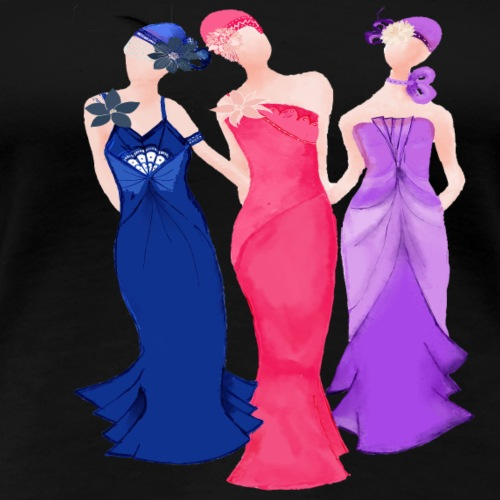 Art Deco Ladies - Women's Premium T-Shirt