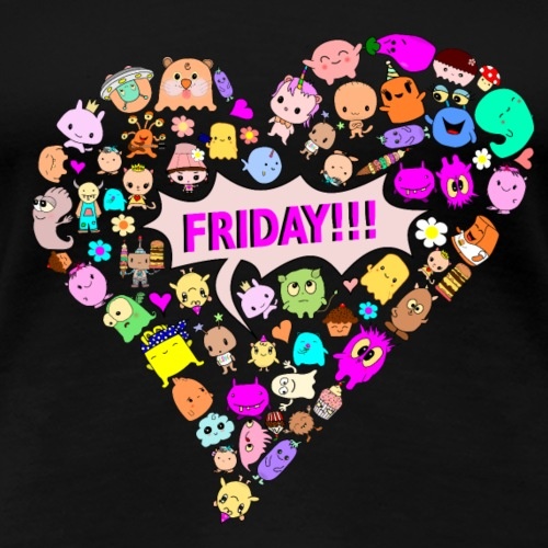 friday!!! - Women's Premium T-Shirt
