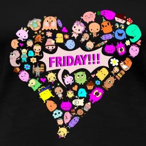 friday!!! - Women's Premium T-Shirt