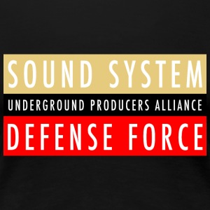 UPA Sound System Defense Force - Women's Premium T-Shirt