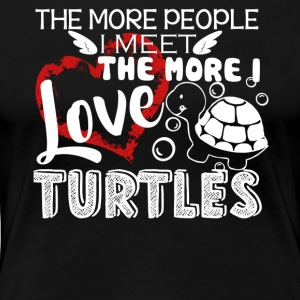 Love Turtles Shirt - Women's Premium T-Shirt