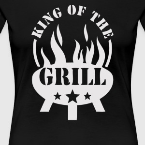 King of the Grill - Women's Premium T-Shirt