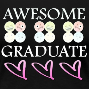 Graduate 2017 grad gifts for him - Women's Premium T-Shirt