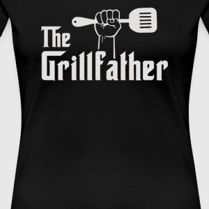 The Grillfather Apron - Women's Premium T-Shirt