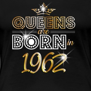 1962 - Birthday - Queen - Gold - EN - Women's Premium T-Shirt