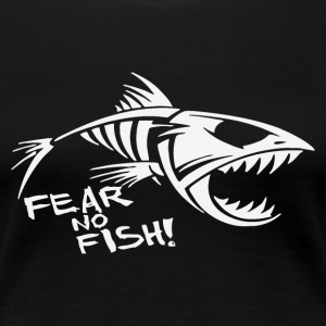 Fear No fish Bone - Women's Premium T-Shirt