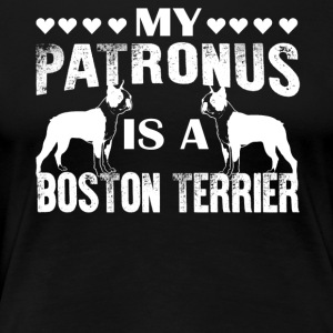 My Patronus Is A Boston Terrier Shirt - Women's Premium T-Shirt