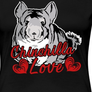 Chinchilla Love Tee & Hoodie - Women's Premium T-Shirt