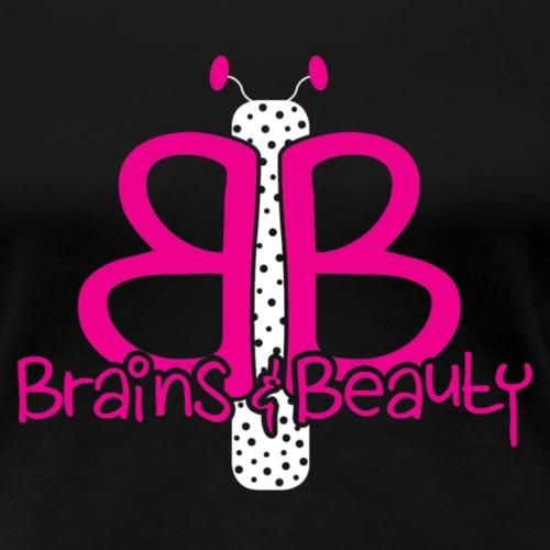 BB Logo (for dark colored shirts) - Women's Premium T-Shirt
