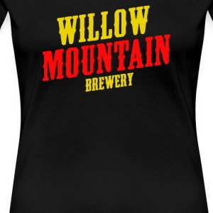 Willow Mountain Brewery - T-shirt premium pour femmes