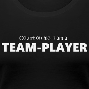 Teamplayer 5 (2174) - Women's Premium T-Shirt