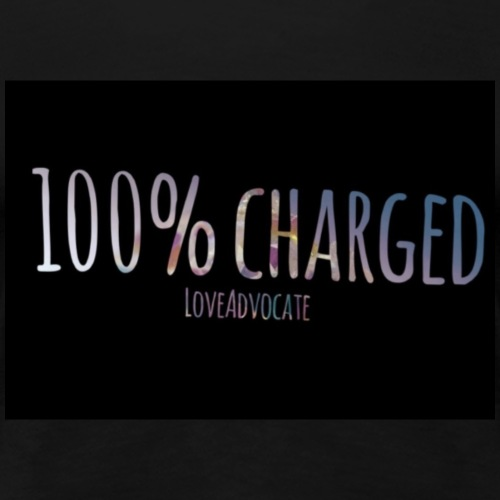 100%charged - Women's Premium T-Shirt