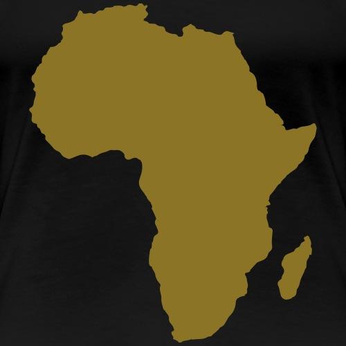 Africa Gold - Women's Premium T-Shirt
