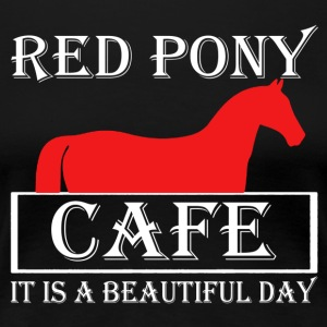 Red Pony Cafe Shirt - Women's Premium T-Shirt