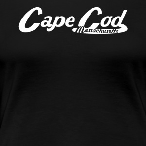 Cape Cod Massachusetts Vintage Logo - Women's Premium T-Shirt