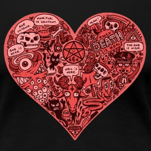 Heart of Darkness - Women's Premium T-Shirt