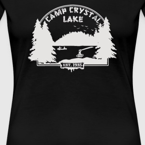 Camp Crystal Lake - Women's Premium T-Shirt