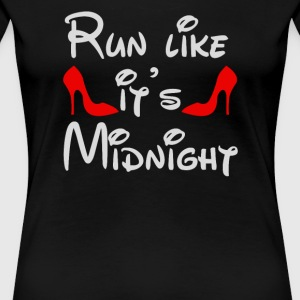 Run Like It's Midnight - Women's Premium T-Shirt