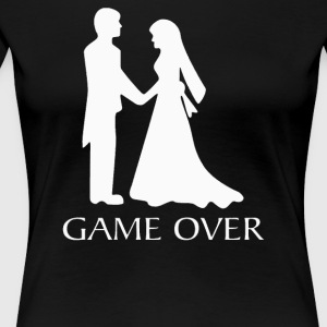 Game Over Wedding - Women's Premium T-Shirt