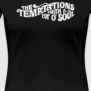 THE TEMPTATIONS - Women's Premium T-Shirt