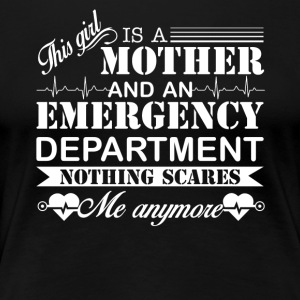 Emergency Department Mom Shirt - Women's Premium T-Shirt