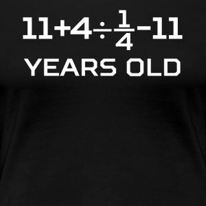 16 Years Old Algebra Equation 16th Birthday - Women's Premium T-Shirt