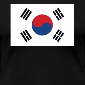 Flag of South Korea Cool South Korean Flag - Women's Premium T-Shirt
