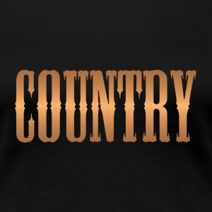 country copper - Women's Premium T-Shirt