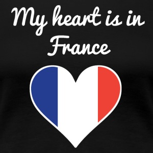 My Heart Is In France - Women's Premium T-Shirt