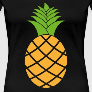 Sublimation Pineapple Fruit - Women's Premium T-Shirt