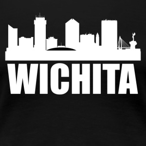 Wichita KS Skyline - Women's Premium T-Shirt